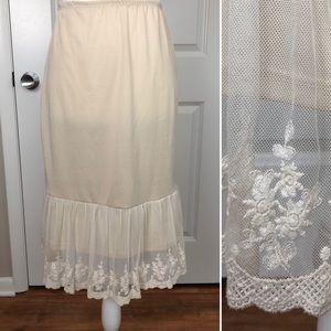 Final Touch | Half Slip Lace Dress Extender S
